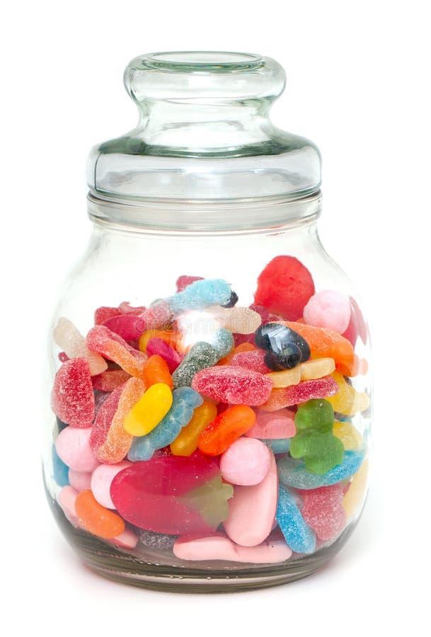 Assortimento della caramella della gelatina immagini stock libere da diritti