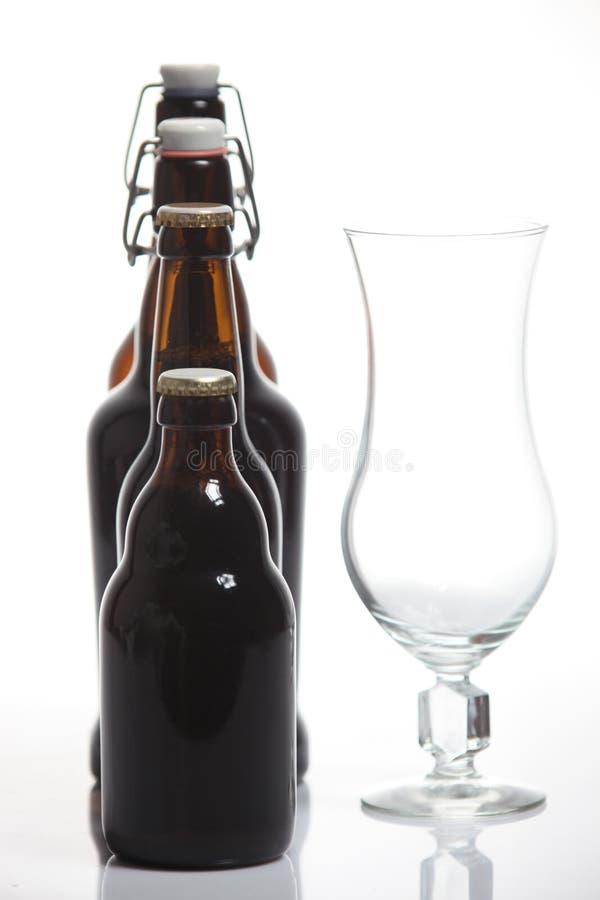 Assortimento delle birre fotografia stock