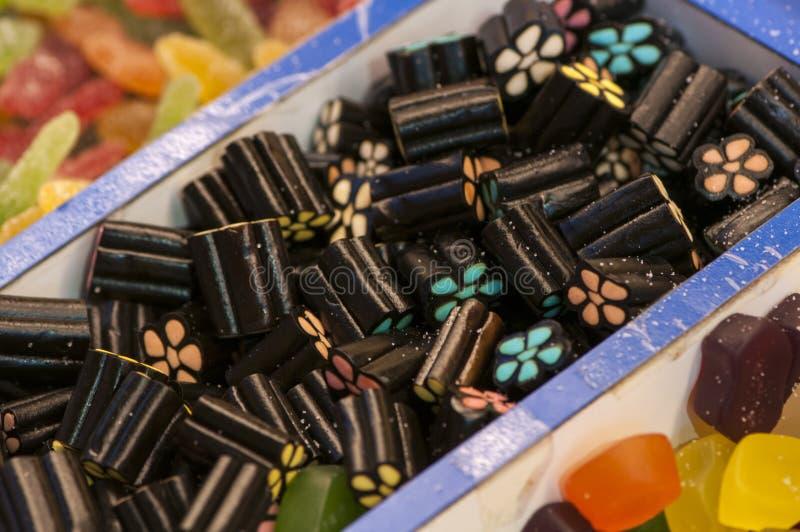 Assortimento delle caramelle fotografia stock libera da diritti