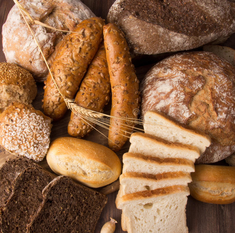 Download Assortment of baked bread stock image. Image of french - 24370551