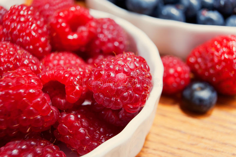 Assortment of berries, colorful ripe and fresh royalty free stock photography