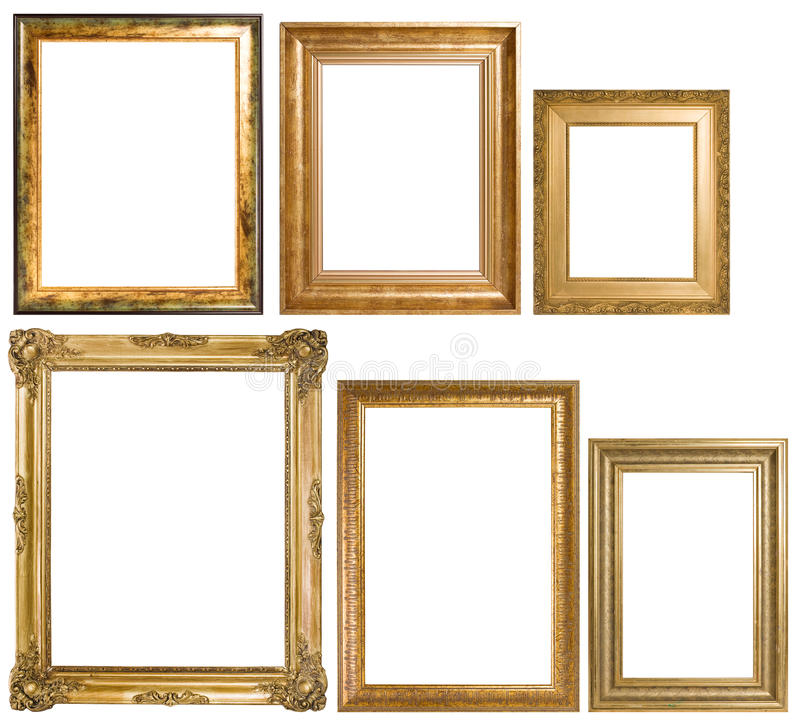 Download An Assortment Of Classic Picture Frames Stock Photo - Image: 20099120