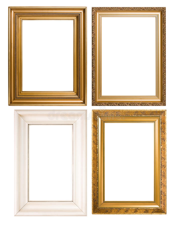 An Assortment Of Classic Picture Frames Stock Photo - Image of ...