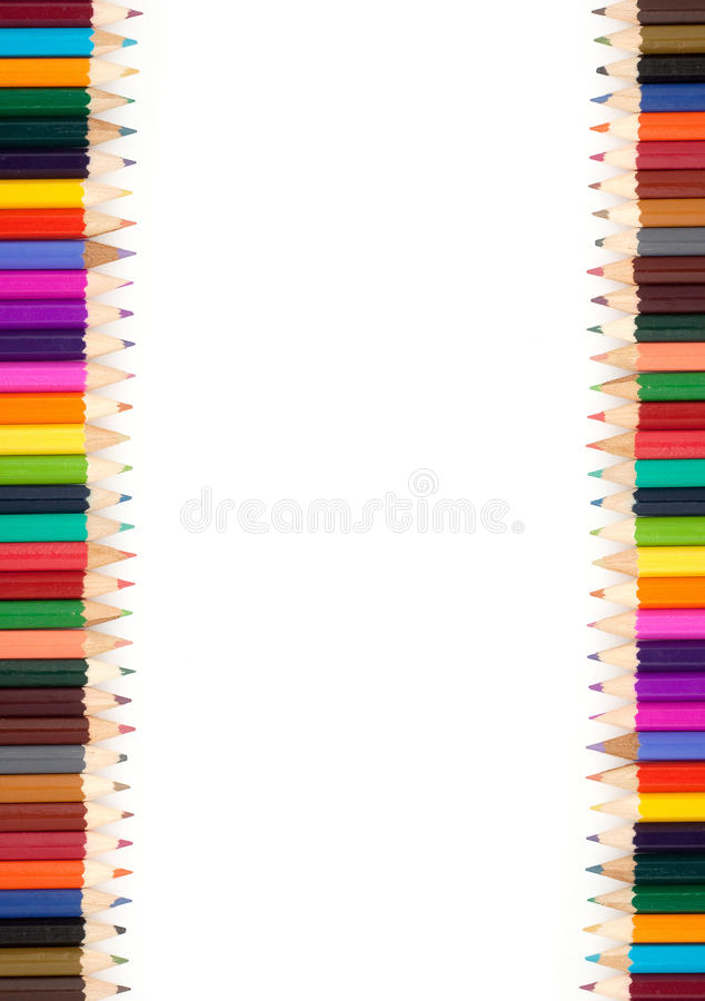 Download Assortment Of Coloured Pencils Stock Image - Image: 14859419