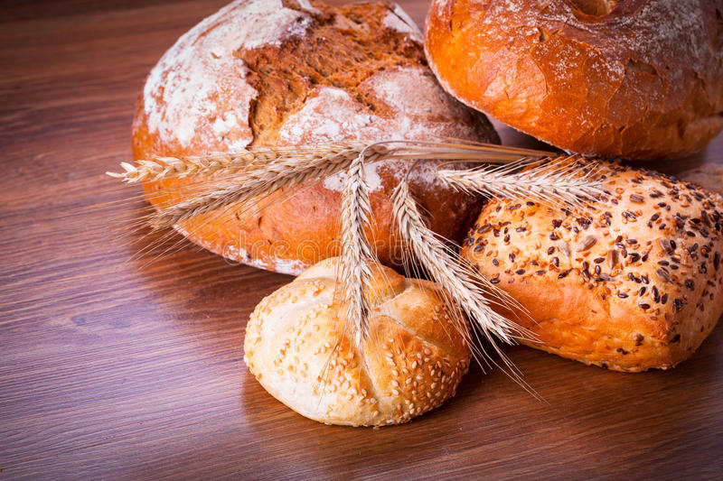 Download Assortment of fresh bread stock image. Image of bunch - 33919287