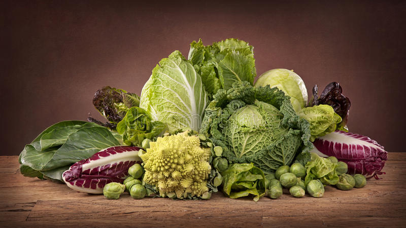 Download Assortment Of Fresh Cabbages Royalty Free Stock Photo - Image: 28839985