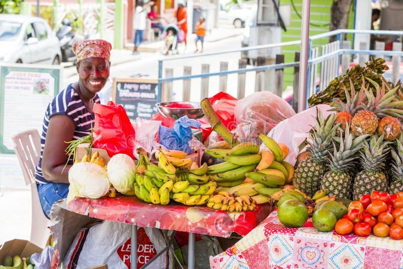 Assortment of fresh organic fruits stock photography