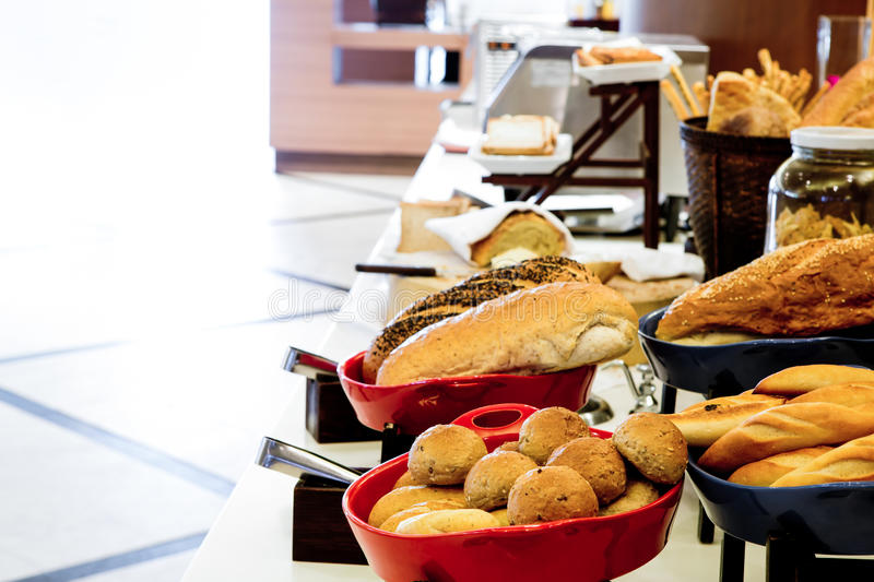 Assortment Of Fresh Pastry On Table