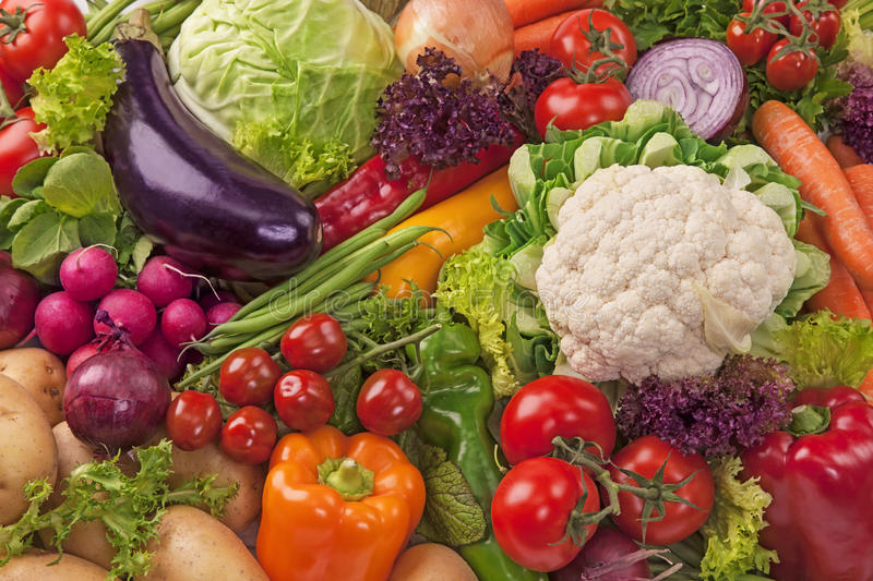 Download Assortment Of Fresh Vegetables Stock Photo - Image: 28925994
