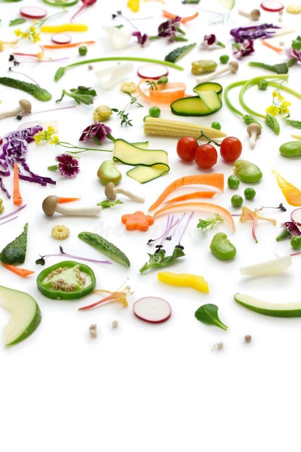 Assortment Fresh Vegetables Stock Photo