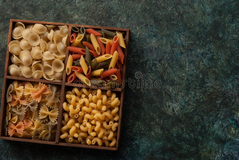 Download Assortment Italian pasta stock image. Image of mixed - 89342001
