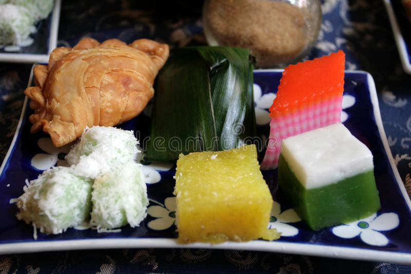 kuih assortment assorted malaysia popular malay kueh dessert known sweet lapis