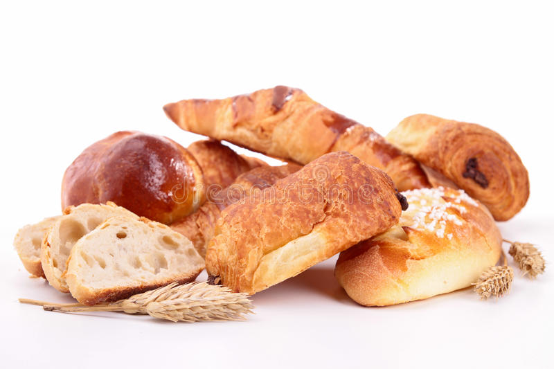 Assortment of pastries royalty free stock image