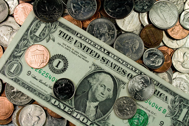 Download Assortment Of United States Currency Stock Image - Image: 21602103