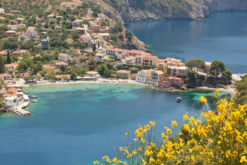Download Assos stock image. Image of kefalonia, cephallonia, village - 25242159