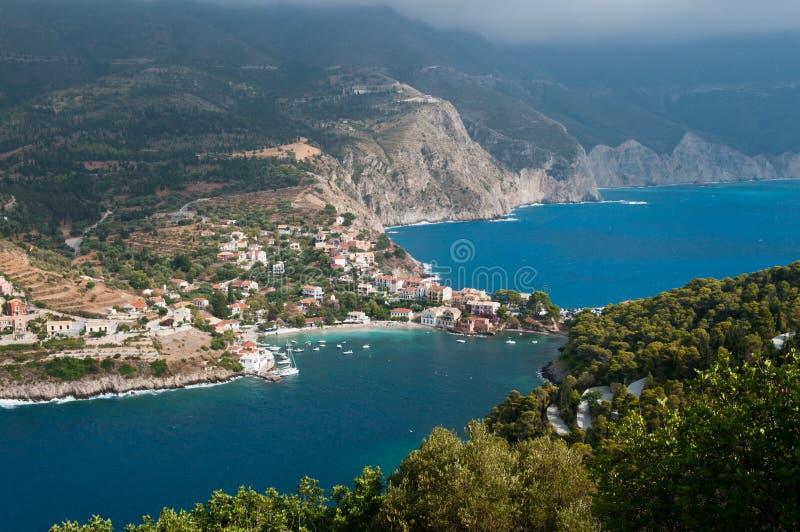 Assos Grèce images libres de droits