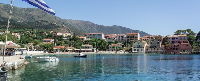Assos, Kefalonia Ελλάδα στοκ εικόνες