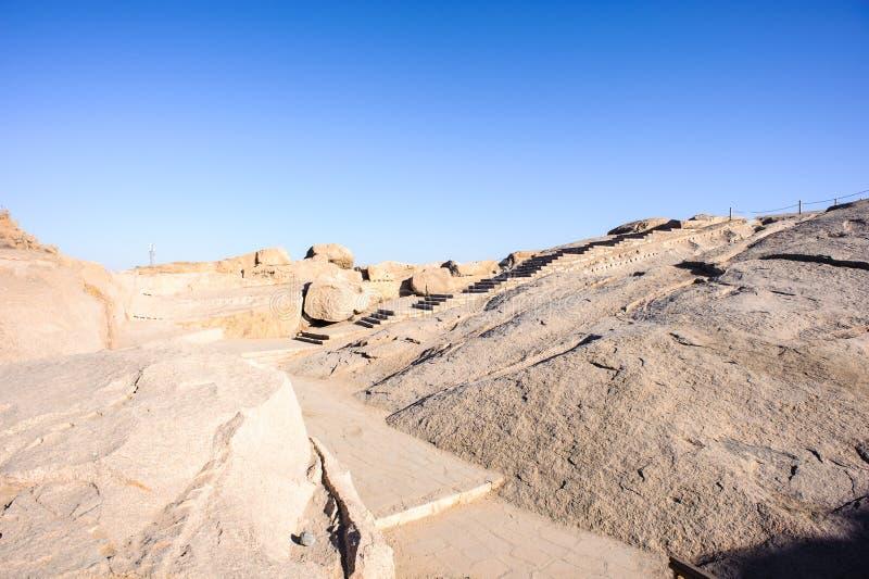 Assuan, Egitto fotografia stock