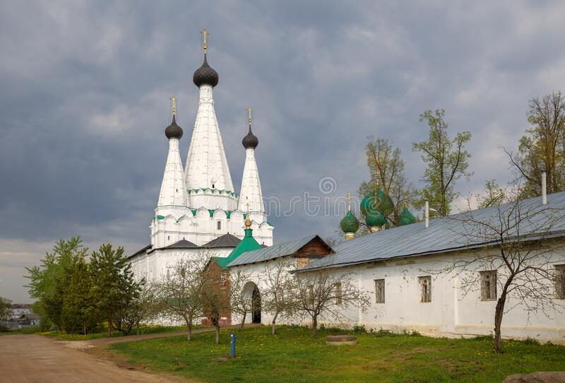 Assumption Marvellous Church in Uglich stock photo