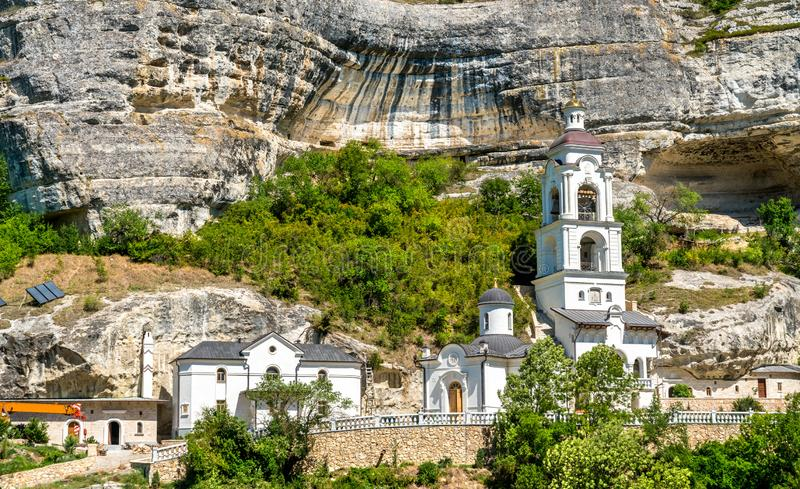 The Assumption Monastery of the Caves in Bakhchisarai, Crimea. The Assumption Monastery of the Caves in Bakhchisarai - Crimea, Europe royalty free stock photo