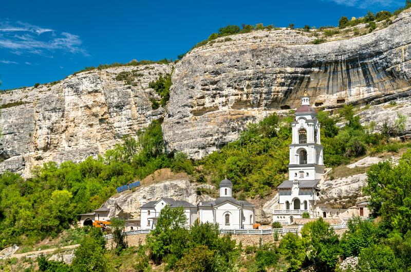 The Assumption Monastery of the Caves in Bakhchisarai, Crimea. The Assumption Monastery of the Caves in Bakhchisarai - Crimea, Europe stock image