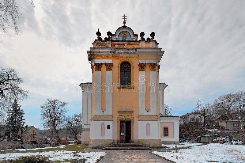 The Assumption of The Virgin Church, in Buchach, Ternopil, Ukraine. The Assumption of The Virgin Church, in Buchach, Ternopil district, Ukraine stock image
