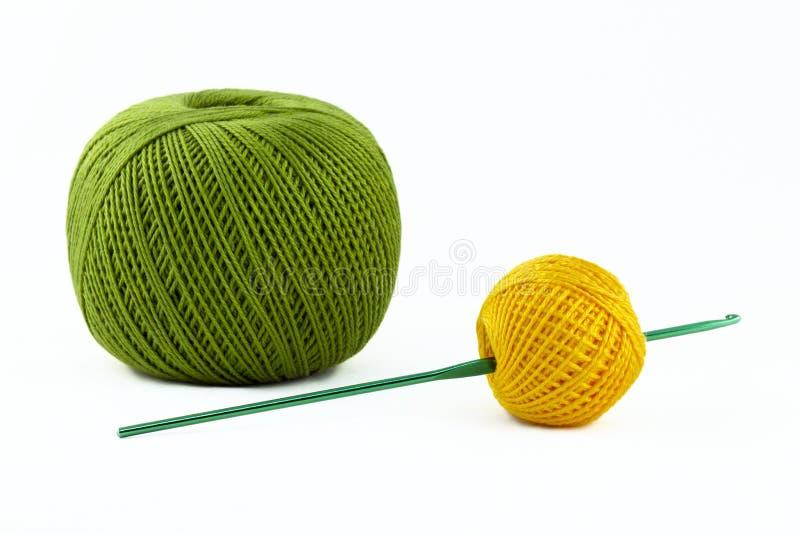 Assunto para o crochet foto de stock royalty free