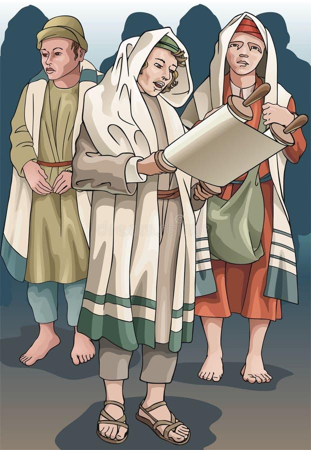 Assuntos religiosos ilustração stock