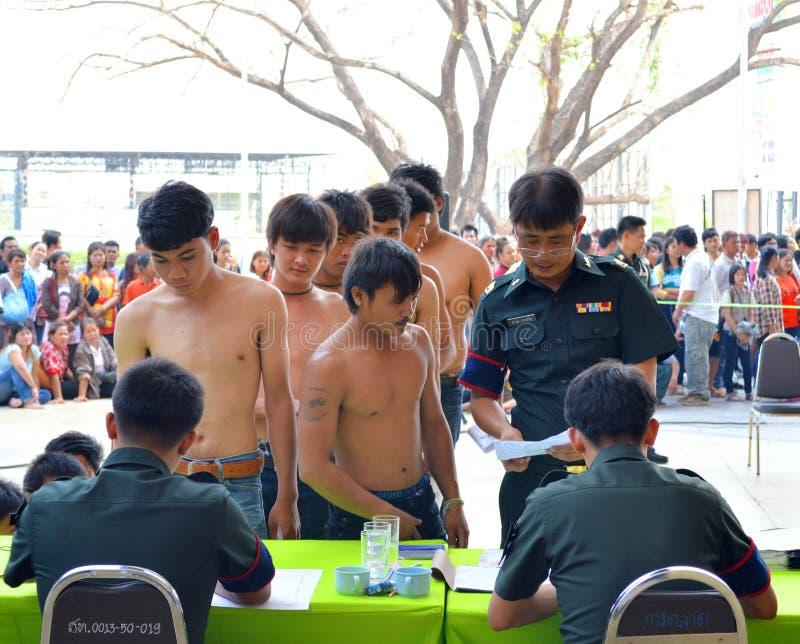 Assunzione dei soldati fotografia stock libera da diritti