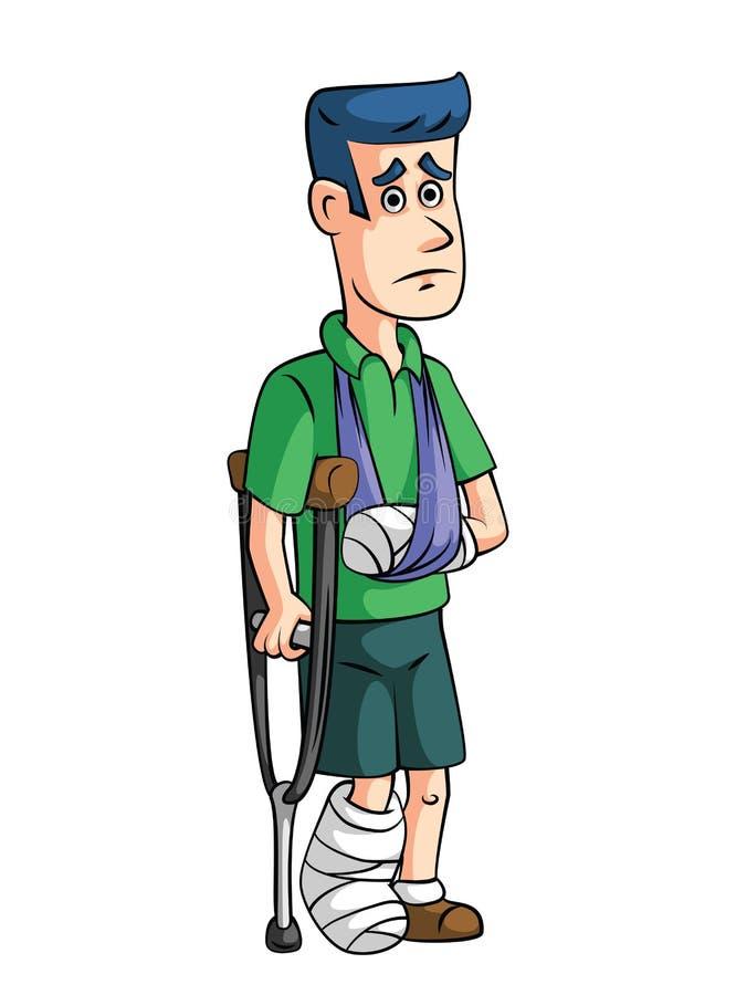 Assurance-accidents illustration de vecteur