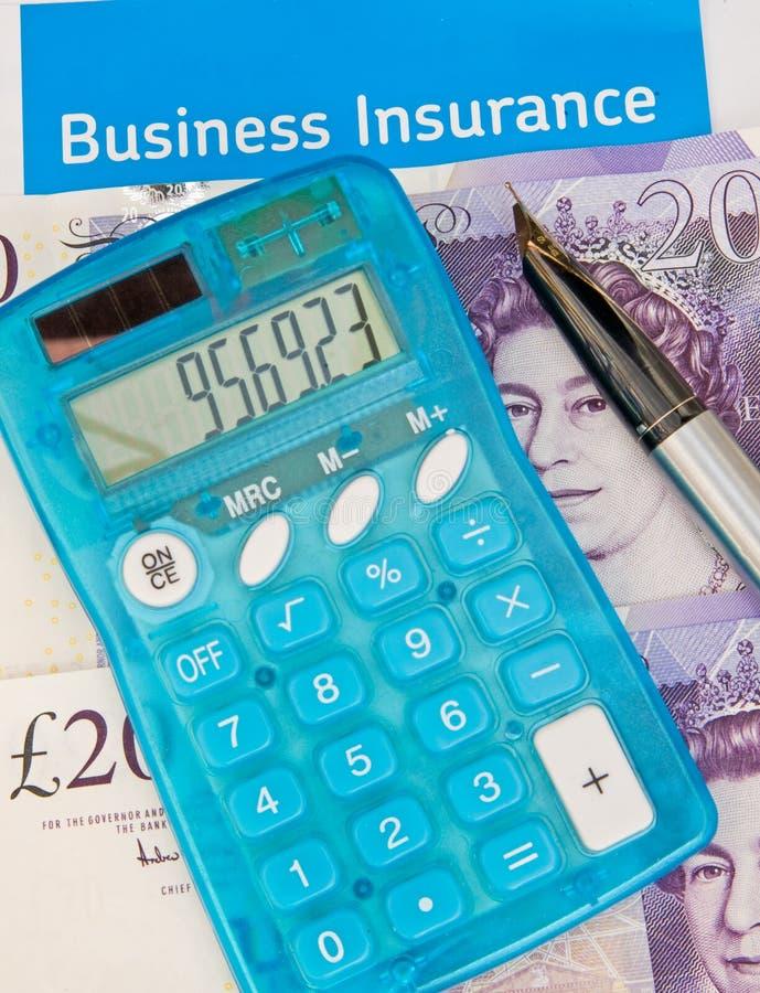 Assurance commerciale au R-U. photos stock