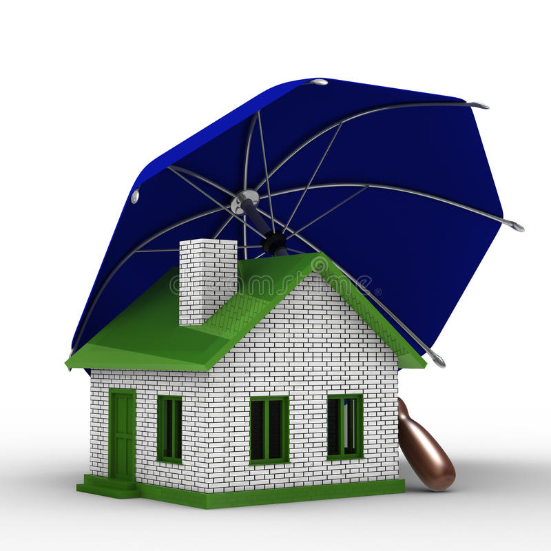 Assurance d'habitation illustration stock