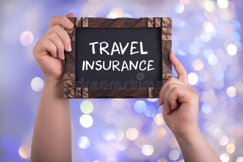 Assurance de voyage photographie stock libre de droits