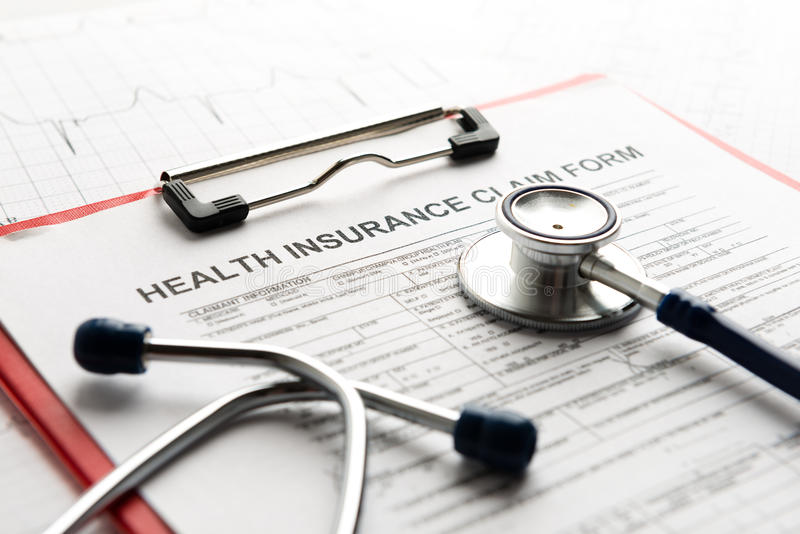 Assurance médicale maladie photos stock