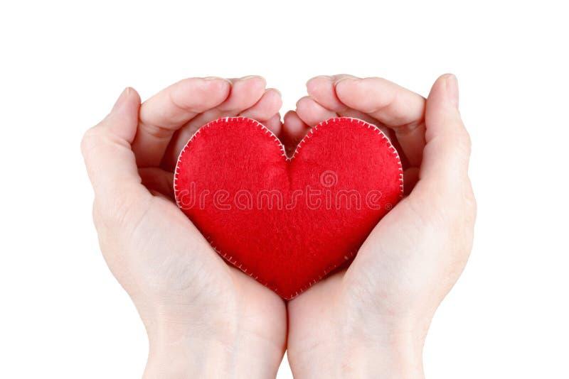 Assurance médicale maladie ou concept d'amour image stock