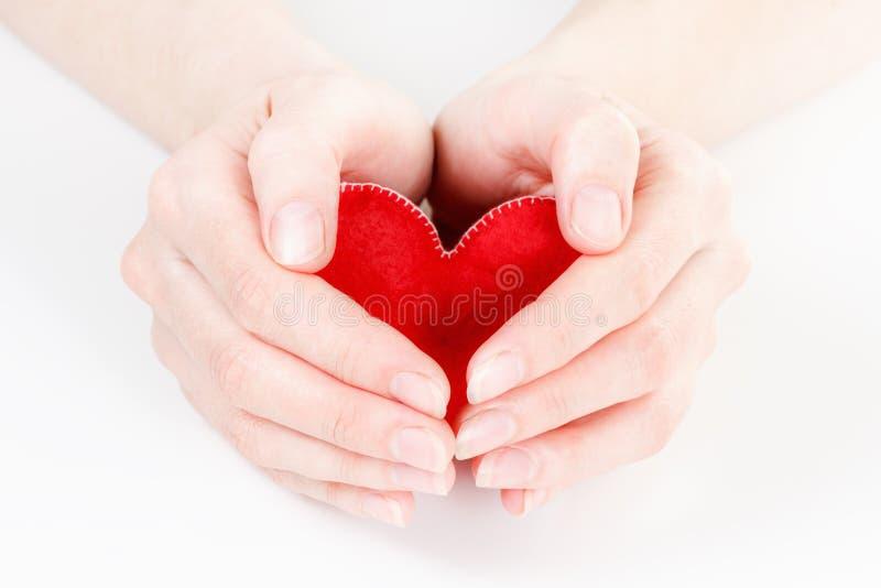 Assurance médicale maladie ou concept d'amour images libres de droits