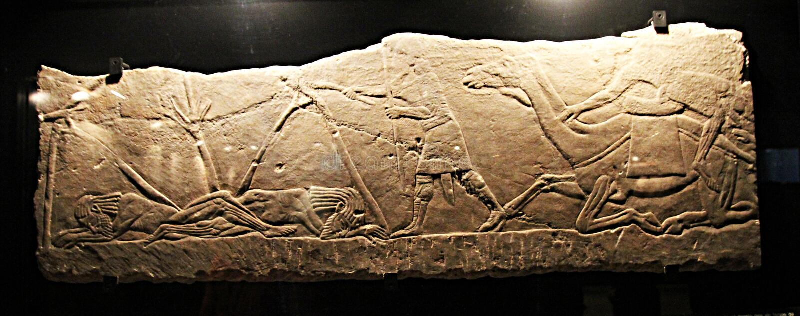 Assurbanipal a Vaticano immagini stock libere da diritti