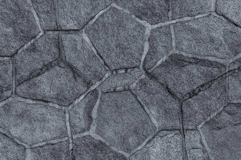 Assymetrisk textur för stads- för bakgrundsabstrakt begreppsten för modell grå färger för granit med linjer arkivfoto