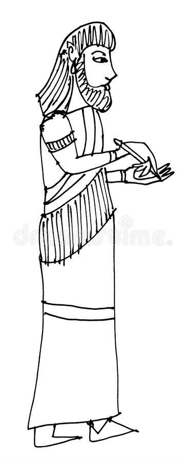 Assyr royalty illustrazione gratis