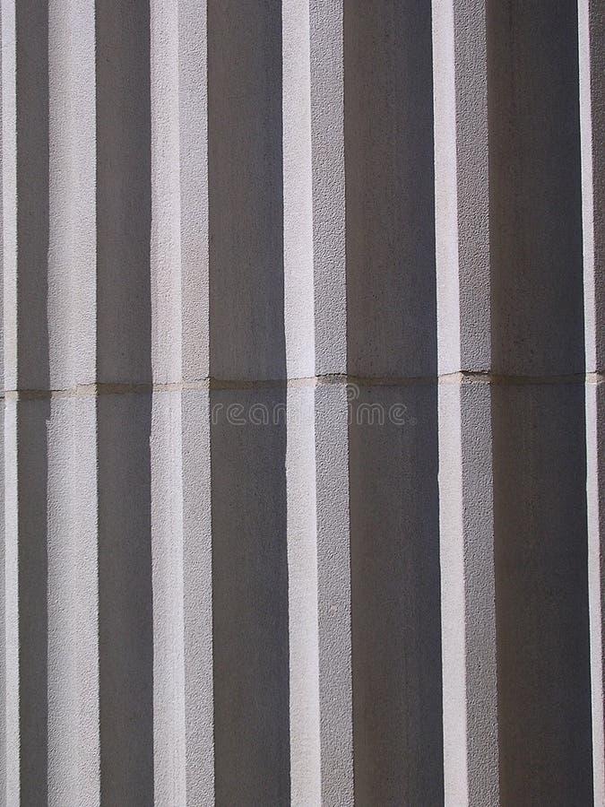 Asta cilindrica ionica della colonna fotografia stock libera da diritti