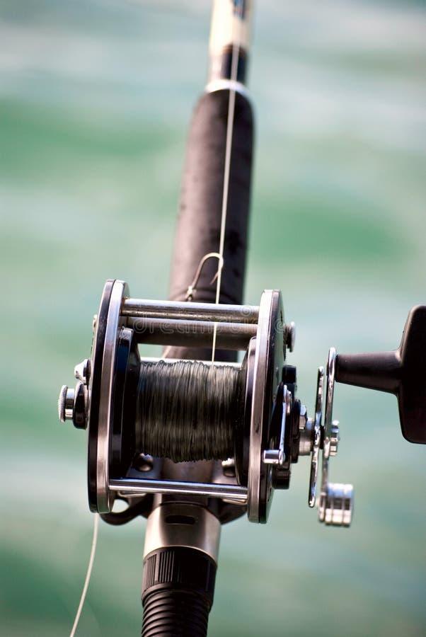 Asta di pesca immagine stock libera da diritti