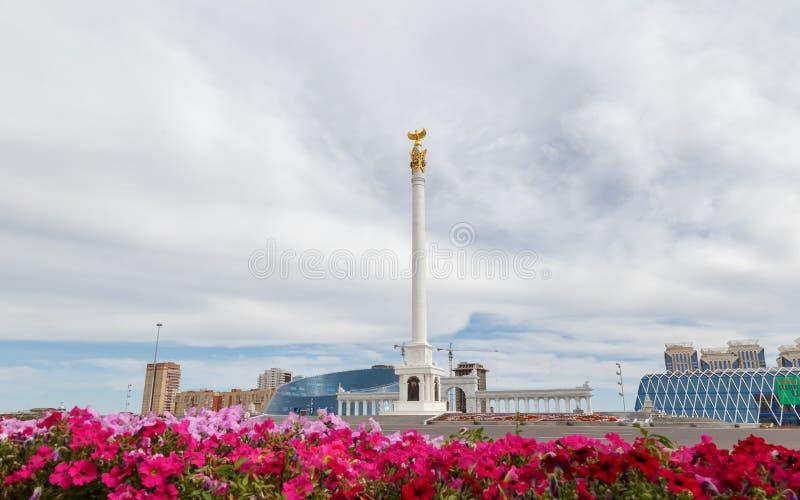 Astaná, Kazajistán - 3 de septiembre de 2016: El área del ` s de Kazajistán fotos de archivo libres de regalías