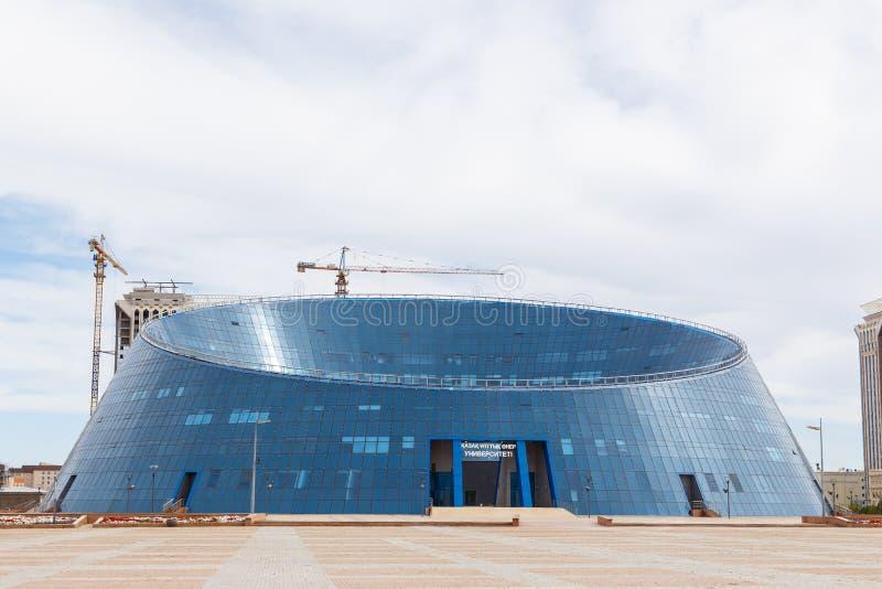 Astaná, Kazajistán - 3 de septiembre de 2016: Nacional Universi del Kazakh imágenes de archivo libres de regalías