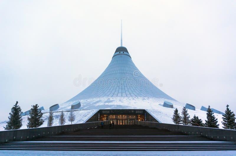 Astana, η πρωτεύουσα του Καζακστάν στοκ φωτογραφίες με δικαίωμα ελεύθερης χρήσης