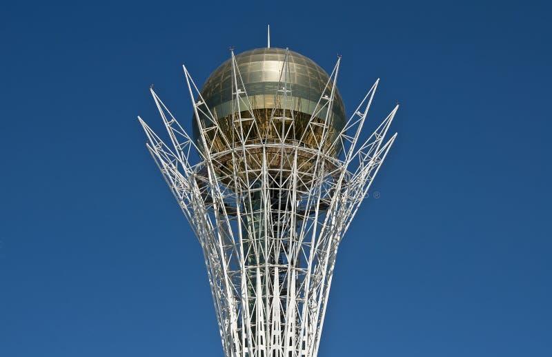Astana, Bajterek imagens de stock