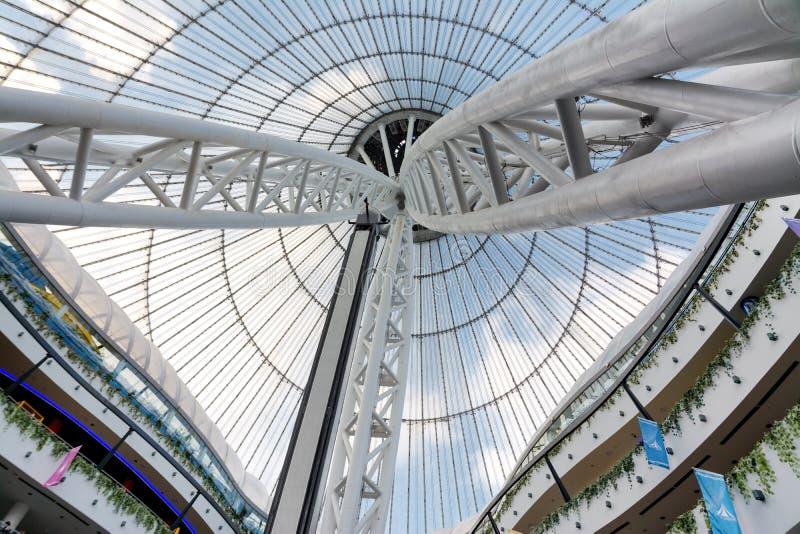 Astana - a capital de Cazaquistão imagens de stock