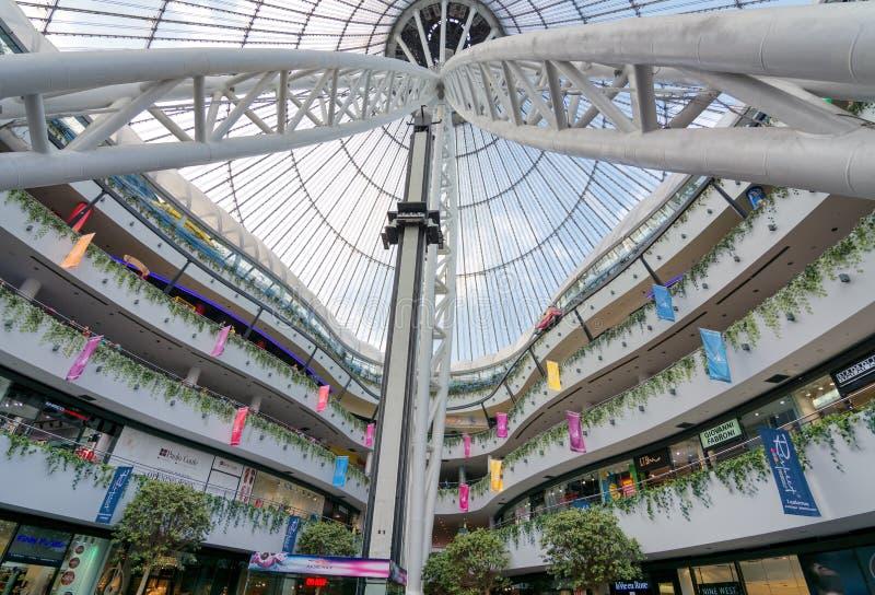 Astana - a capital de Cazaquistão foto de stock