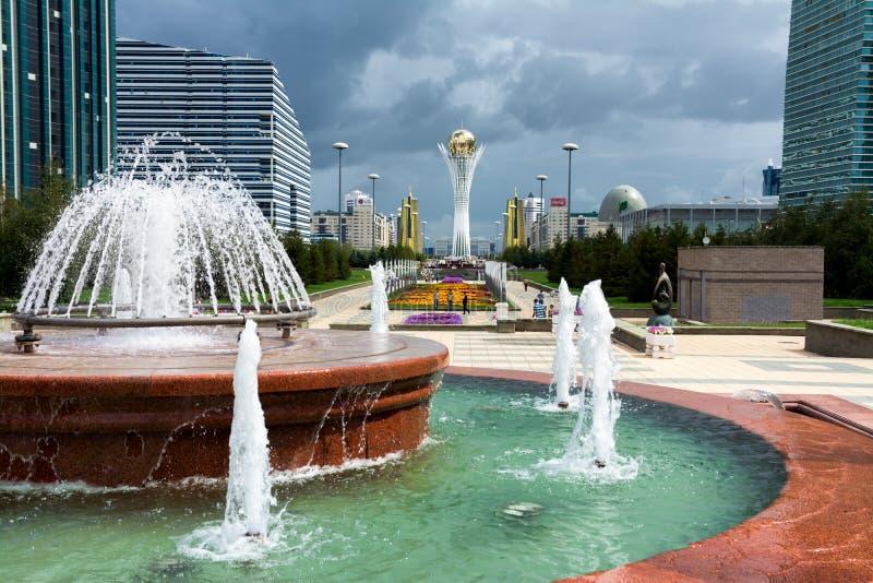 Astana - a capital de Cazaquistão imagem de stock