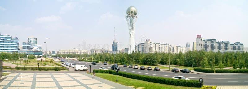 astana Centre de ville Panorama images stock