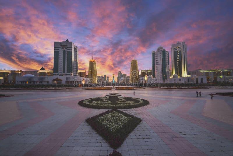Astana city stock photos
